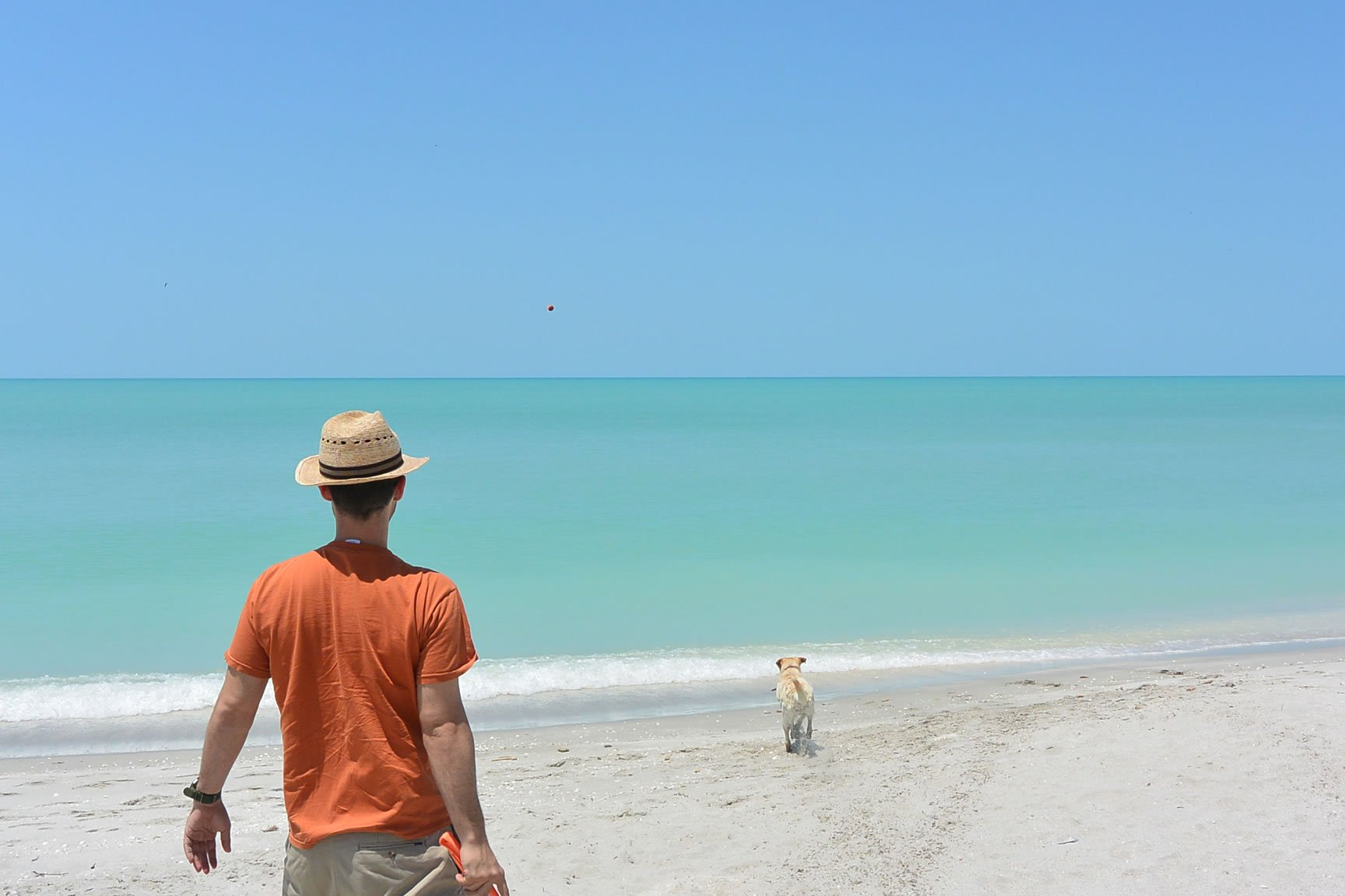 Beach on Road to Campeche