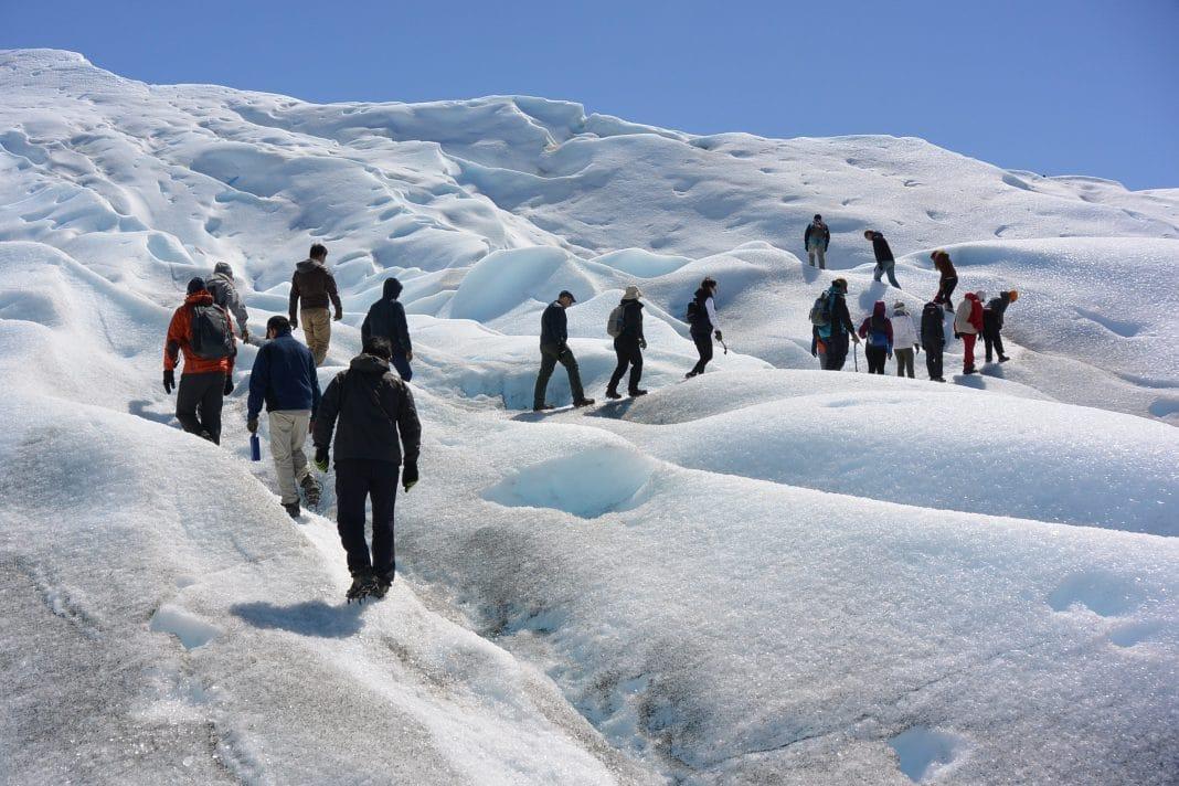 Walk on Glaciar