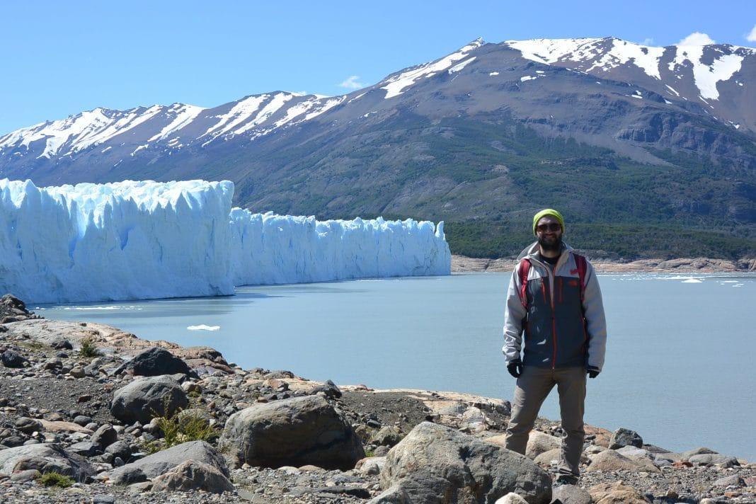 Me on Perito Moreno